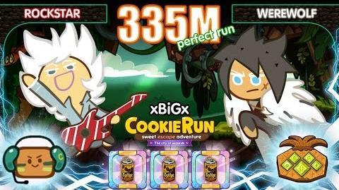CookieRun 335M EP.2 Rockstar+Werewolf Perfect ร็อคสตาร์+หมาป่า