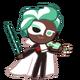 Mint Choco Cookie Halloween
