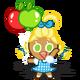 Apple Cookie Halloween