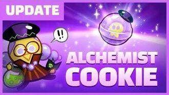 Alchemist Cookie Gets a Magic Candy!