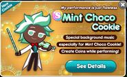 Mint Choco Release