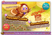 Pancake Cookie newsletter