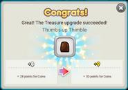 Thumbs-up Thimble