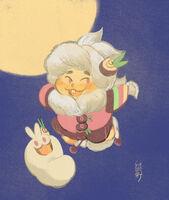Moon Rabbit - cochart