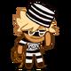 Adventurer Cookie Halloween