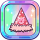 Pink Bear Jelly Party Hat
