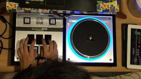 DJ DAO FP7 (IIDX) - HAPPY☆ANGEL ANOTHER 2P Hand Method (Noob play)