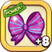 Purple Ribbon Bow+8