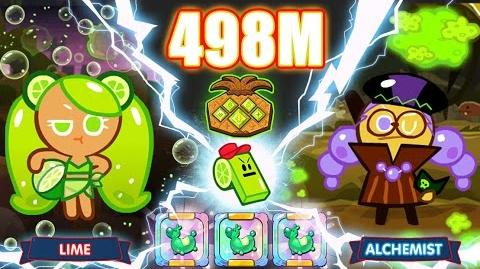 Kakao CookieRun 498M EP.2 Lime+Alchemist ทดสอบ 3 ม้าทำคะแนนเกาะ 2
