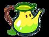 Herb Teapot