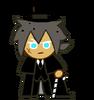 Werewolf Cookie Halloween