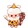 Moon Rabbit Cookie Halloween