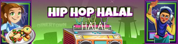 Banner Hip Hop Halal