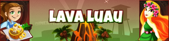 Banner Lava Luau