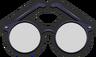 Hip Stir Café Vintage Glasses