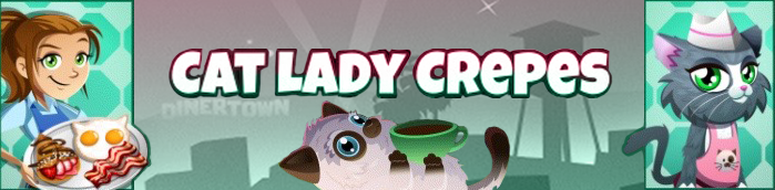 Banner Cat Lady Crepes