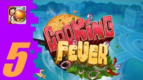 Cooking Fever (Part 5) Fast Food Court Levels 21-25