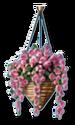 Italian-Buffet-Hanging-Flowers