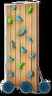 Corn-Dog-Van-Climbing-Wall