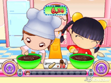 Maylee cooking