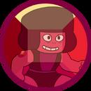Ruby (right shoulder gem)