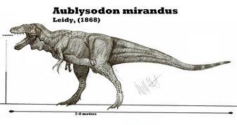 Aublysodon mirandus by teratophoneus-d5asbpe
