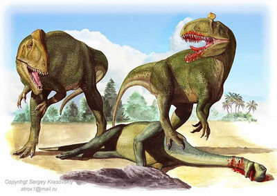 SergeyKrasovskiyCryolophosaurus