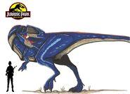 Jurassic Park Giganotosaurus by hellraptor