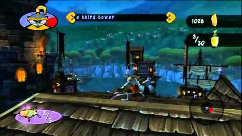Sly Cooper Thieves in Time - Blimp Launch Gameplay E3 2012