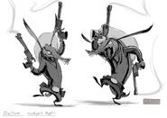 Toothpick sketches padrupz