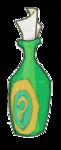 Hinweisflaschen