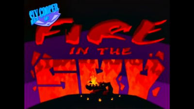 4. Sly Raccoon Episode Fire in the Sky
