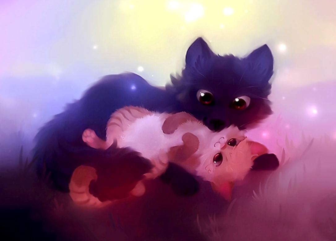всего картинки про няшек котят интерес молодых поклонников