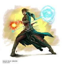 Half elf druid by nickbarfuss-d3cfrm1