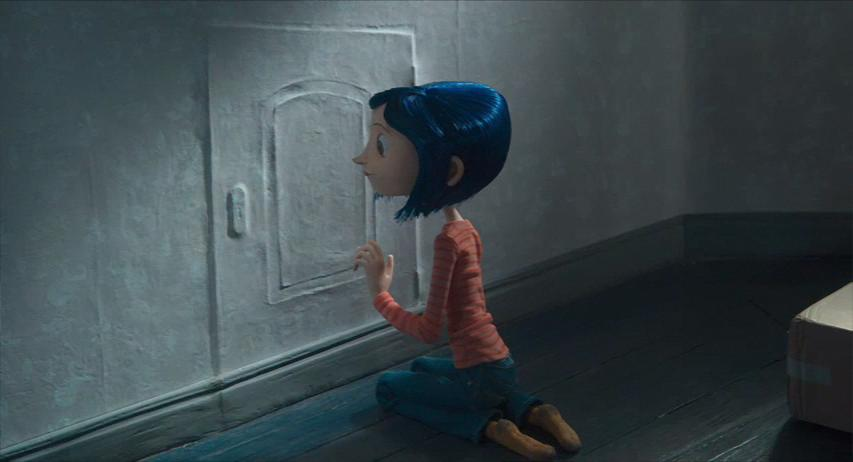 Image result for coraline movie door