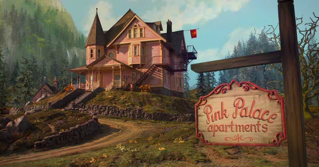 Image result for coraline pink palace
