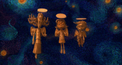 The Ghost Children as angels