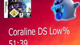 Coraline DS Low% - 51 39 by Sausty (WORLD RECORD)
