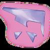 Fragmentos de plastico