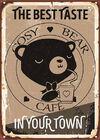 Afiche CosyBearCafé