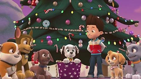 Pups Save Christmas.Video Popular Seasons Paw Patrol Pups Save Christmas 2014