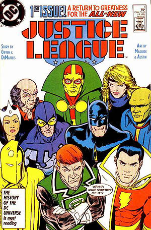 Justice League 1 DC 1987