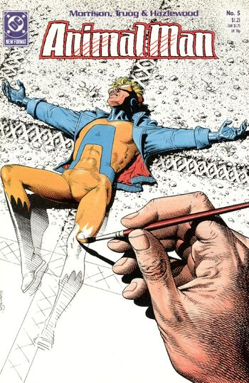 Animal man 05 cover