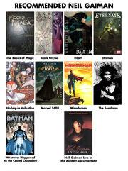 Recommended Neil Gaiman