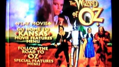 Opening to The Wizard of Oz 1999 DVD