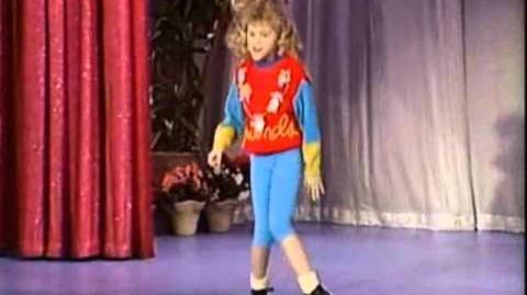 Stephanie dancing
