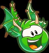 451px-Green Puffle Dragon
