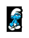 Smurf grouchy
