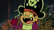 CJ is a pirate