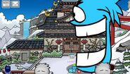 The Attack Of The Blue Puffles Caught Eating The Dojo